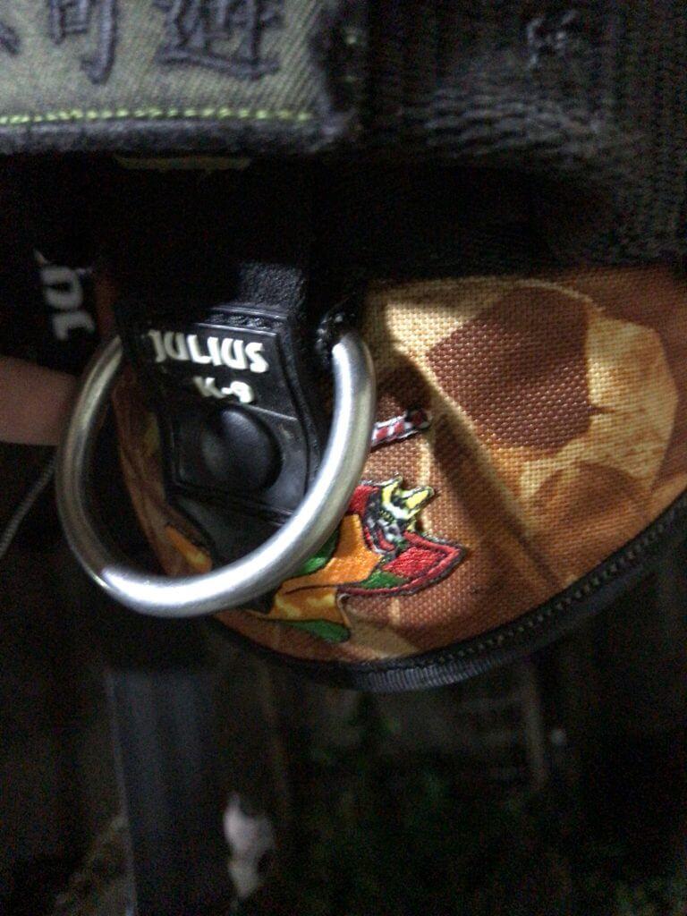 Julius-K9 idc-powerharnessボルジャーノSPに犬夜叉の刺繍