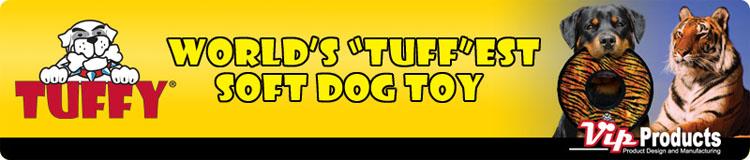 犬のおもちゃ TUFFY