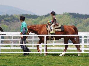 ワールド牧場 乗馬体験