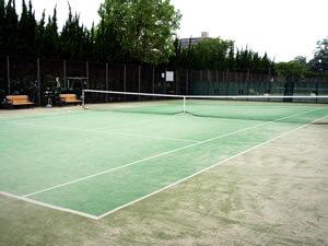 住之江公園 テニスコート